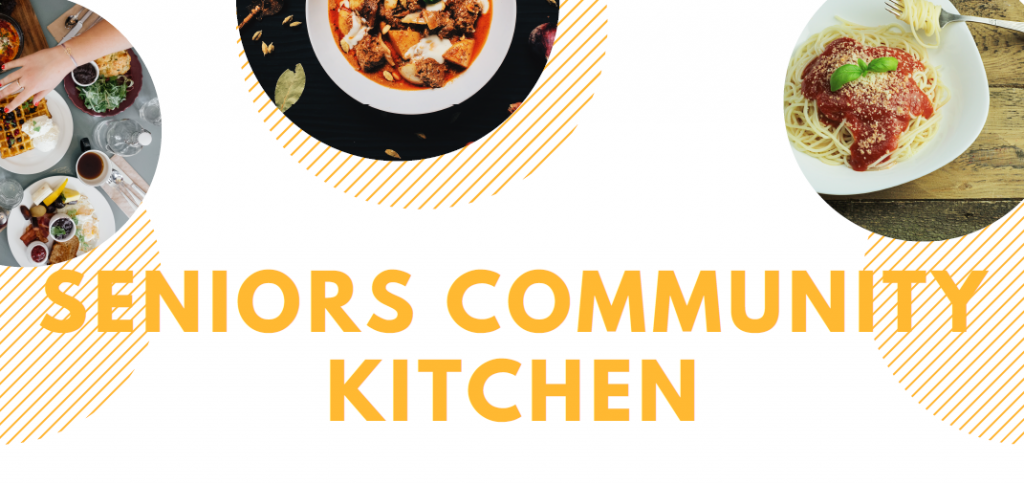 Seniors Community Kitchen Banner