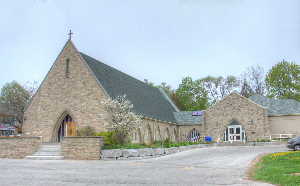 St. Cuthbert's Anglican Church exterior, Oakville