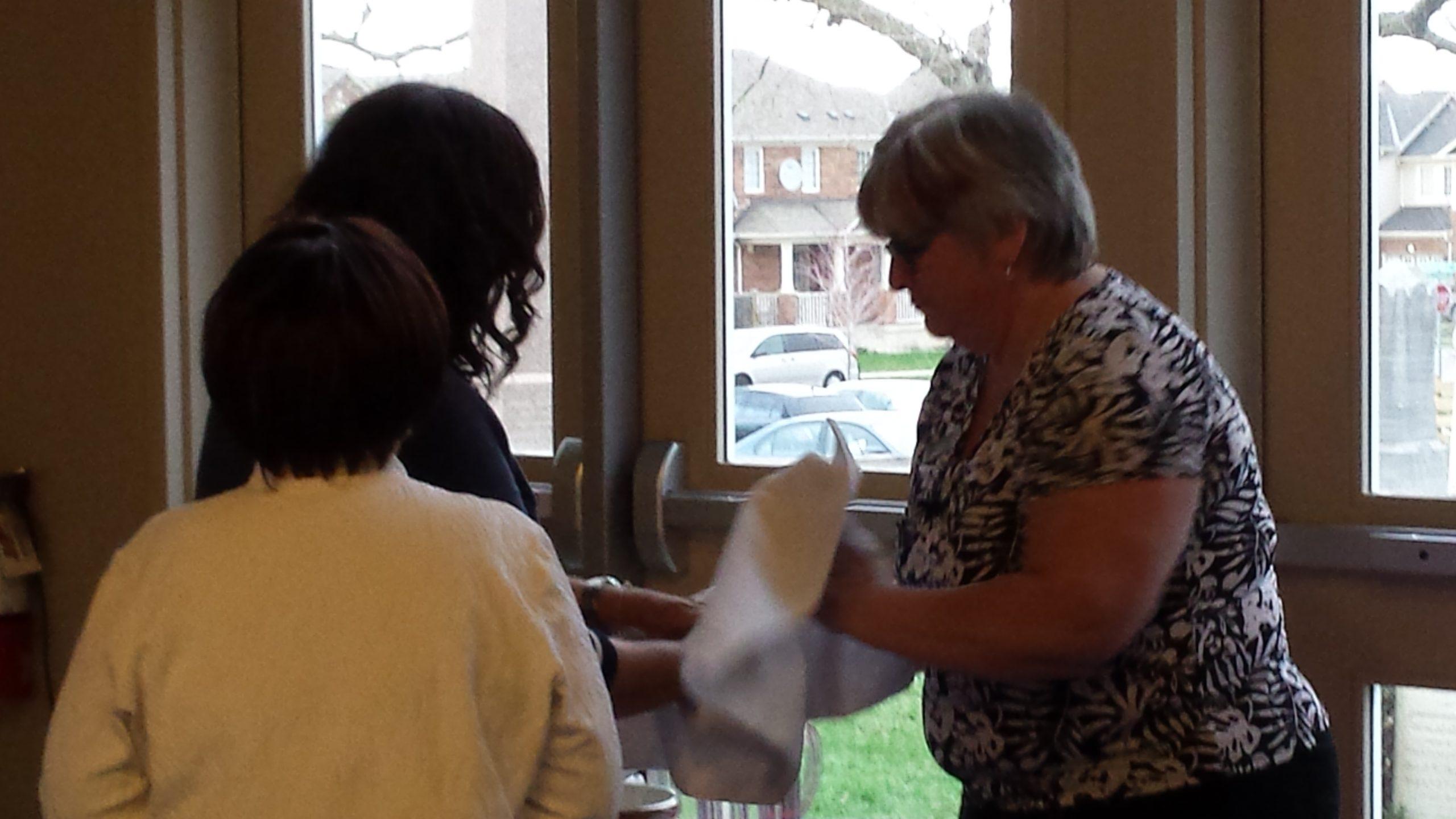 Maundy Thursday Handwashing