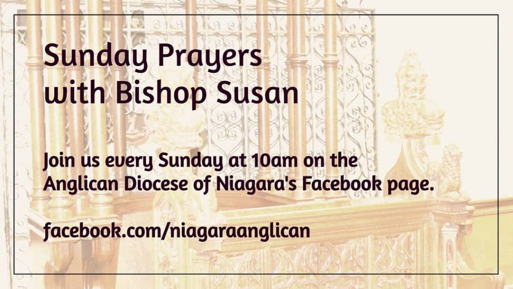 Sunday Prayers with Bishop Susan Bell - Sunday at 10 am
