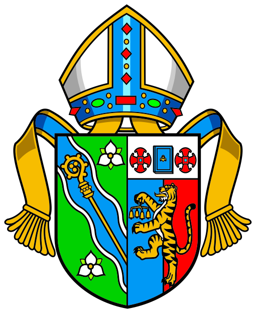 Bishop Bell's Episcopal Arms