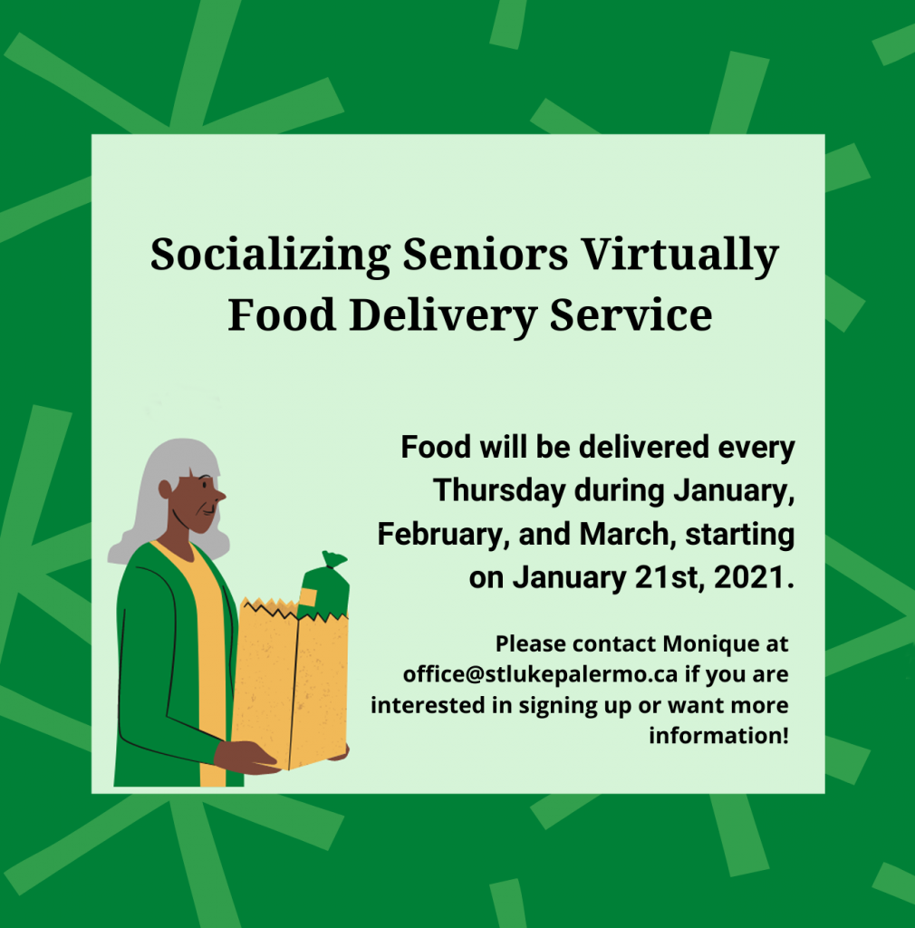 Socializing Seniors Virtually Food Delivery Service